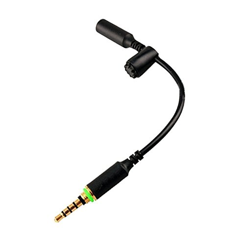 Accessonico Waterproof Audio Extension Adapter Compatible with Lifeproof Fre Nuud Case 3.5mm Headphone Stereo Jack Convert Cord Compatible with Lifeproof AUX Wire