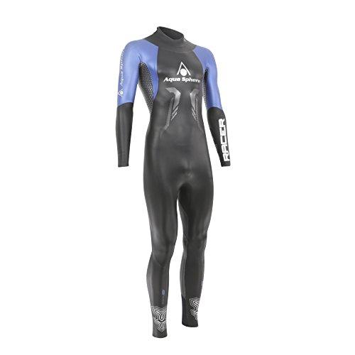 Racer Neoprenanzug, schwarz/blau