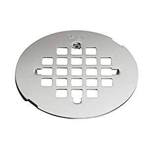Oatey 420054–1/4-in redondo SNAP-Tite colador, acero inoxidable