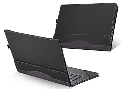 X360 13.3 Inch Case Detachable Cover for Hp Envy / Spectre x360 13.3 2 in 1 Sleeve (Dimensions(WxDxH) 308 x 218 x 14.7mm, Grey)