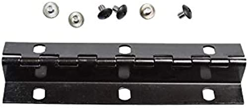 Imperial Mailbox Systems Door Hinge Size 6 Screw Holes Black (Small)