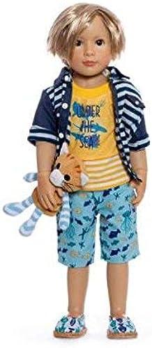 Kidz 'n' Cats Y10050 Spielpuppe Lukas mit 11 Gelenken