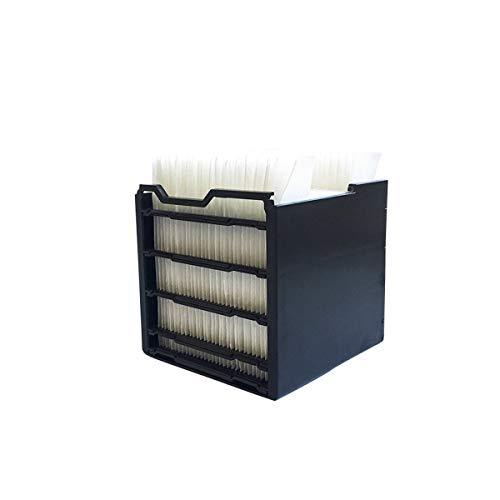 MediaShop Livington Arctic Air Ersatzfilter 3 Stk. – Zubehör für das kompakte Klimagerät mit Verdunstungskühlung – Filter zum Nachfüllen für den Arctic Air Mini Luftkühler