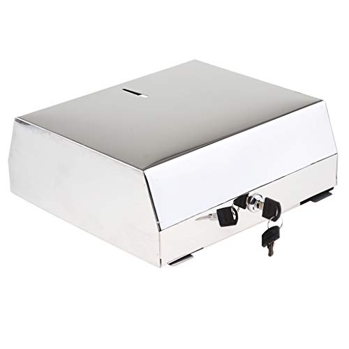 Metall Absperrbar Handtuchspender Toilettenpapierspender Toilettenpapierhalter Papierhandtuchspender - A