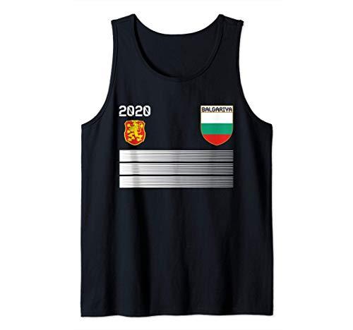Camisola de futbol de Bulgaria 2020 Futbol de Bulgaria Camiseta sin Mangas