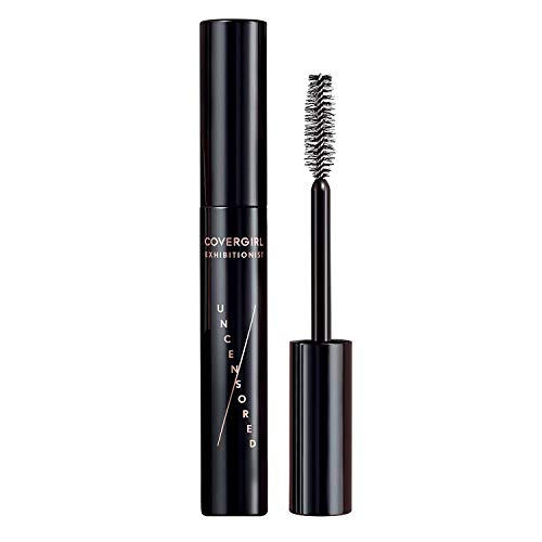 Covergirl Exhibitionist Uncensored Waterproof Mascara, Extreme Black, 0.3 Fl Oz