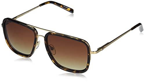 Tommy Hilfiger Gradient Square Unisex Sunglasses - (TH 855 C2 S|57|Brown Color Lens)
