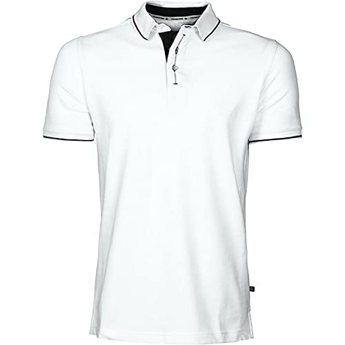 Texstar PS05 Herren Pikee Hemd, Größe XL, Weiß
