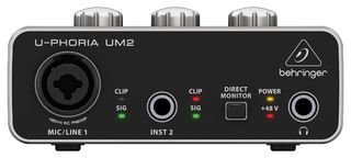 Behringer U-PHORIA UM2 2 x 2 interfacce audio USB 2.0