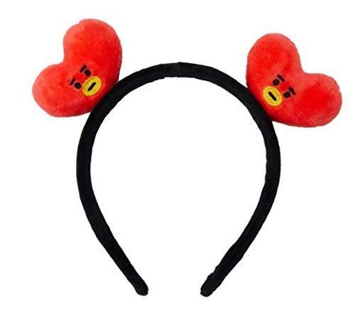 Kpop Bangtan Boys Idol Boys Headband Hair band, Cute Hair Tie Hair Wrap Rope Hair Ring Accessories (Tata)