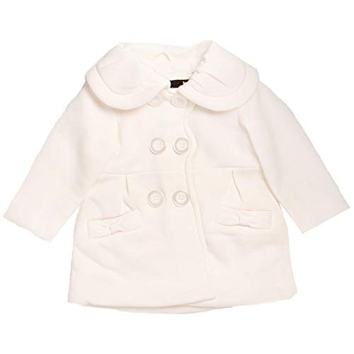 Gymboree - Abrigo Bebe - White, 18 meses, Clothing