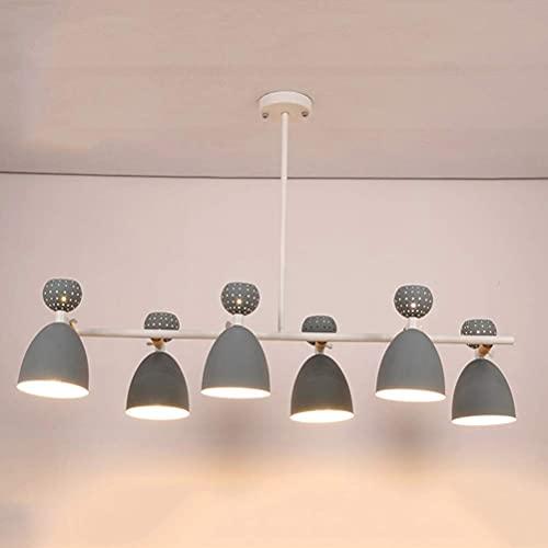 Lámpara de techo con 3 lámparas de techo, iluminación de techo, iluminación clásica americana, lámpara colgante de cobre para restaurantes