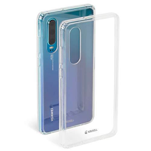 Krusell Hülle geeignet für Huawei P30 PC - Kivik - Transparent Handyhülle Case Cover Ultra-dünn und leicht