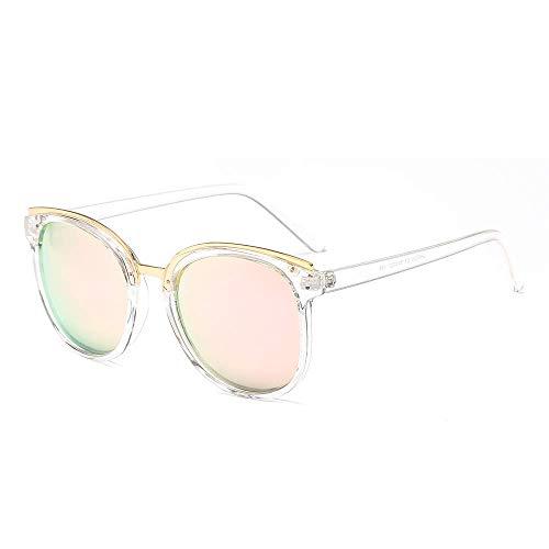 Yuany Zonnebril, vierkant, van metaal, voor dames en heren, vintage UV400 Shades Fashion Eyewear