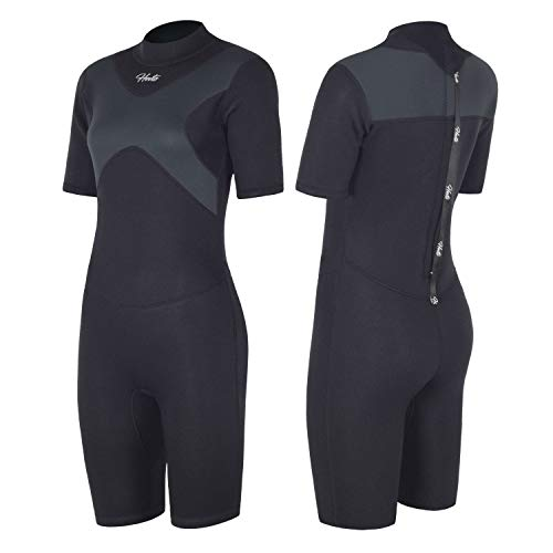 Hevto Shorty Wetsuits X Women 3mm Neoprene Scuba Diving Suits Surfing...