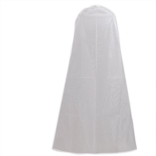BESTOMZ Kleidersack Schutzhülle für Hochzeitskleid Abendkleider Transparent