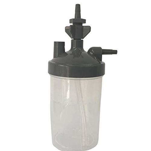 Noblik Water Botella Humidificador para Concentrador De Oxígeno Humidificador Concentrador De Oxígeno Botella Humidificador Botellas Generador De Oxígeno Partes del Dispositivo