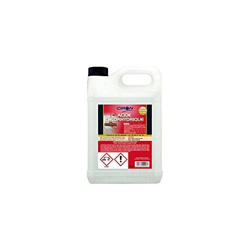 Charbonneaux-Brabant 010 Acide chlorhydrique 23 % 5 L Clair