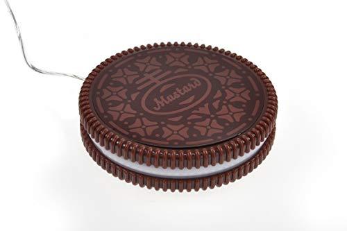 Monsterzeug Hot Cookie - Tassenwärmer, Mini USB Heizplatte für Kaffeebecher, Kaffeewärmer im Keks-Design, Warmhalteplatte für Teetassen