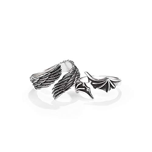 Matching Rings for Couples Best Friends - Adjustable Rings Promise Rings...