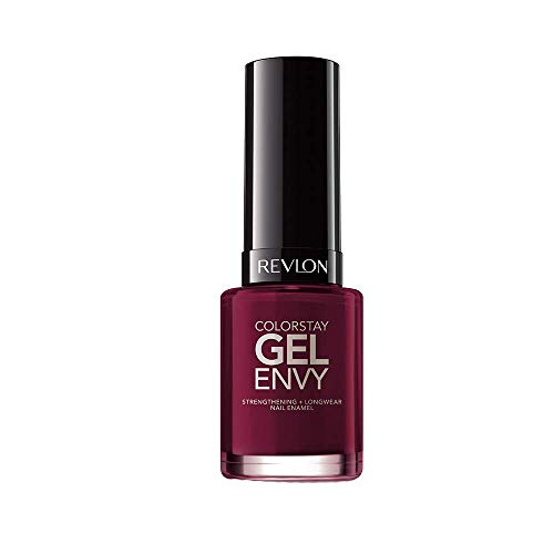 Revlon ColorStay Gel Envy Longwear Nail Enamel, Queen of Hearts, 0.4 Fl Oz (1 Count)