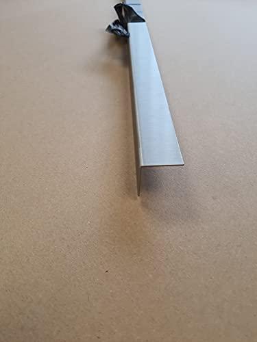Lot 5 Cornières d'angle Alu Anodisé brossé- épaisseur 1.5 mm - Longueur 150 cm (3 cm x 3 cm)