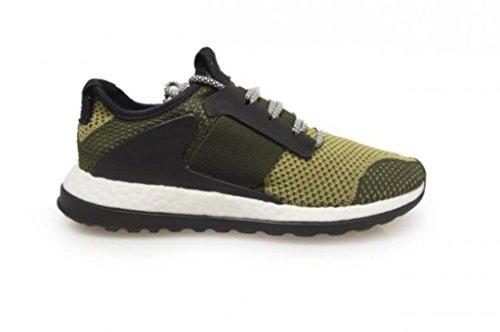 adidas - ADO Pure Boost ZG - S81827 - Farbe: Olivgrün-Schwarz-Beige - Größe: 38 2/3 EU
