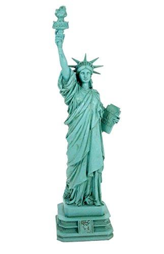 Veronese Design Freiheitsstatue Statue of Liberty 32 cm grün New York Figur Skulptur Deko