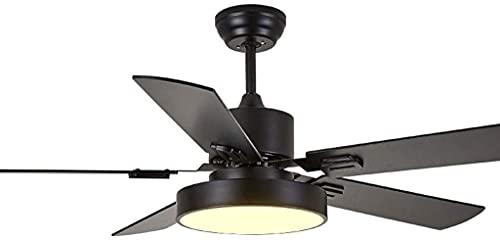 Ventilador de techo nórdico moderno para sala de estar, comedor, dormitorio, silencioso, lámpara de araña simple de moda, ventilador de techo para sala de estar, dormitorio