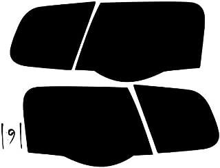 Subject 9 - Fits: Jetta (Sedan) Pre-Cut Vinyl Overlay Taillight Plus Tint (2005 2006 2007 2008 2009 2010) Dark