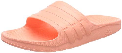 Adidas Duramo Slide, Scarpe da Spiaggia e Piscina Unisex-Adulto, Arancione (Chacor), 46 EU