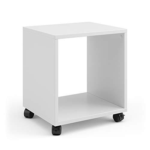 Vicco Rollcontainer für Faltbox Bürocontainer Aktenregal Büroregal Aktenschrank (1 Fach)