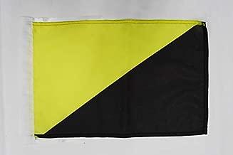 AZ FLAG Bandera de la MILICIA CONFEDERAL DE LA CNT-FAI 90x60cm para Palo Bandera Movimiento LIBERTARIO DE ESPA/ÑA 60 x 90 cm