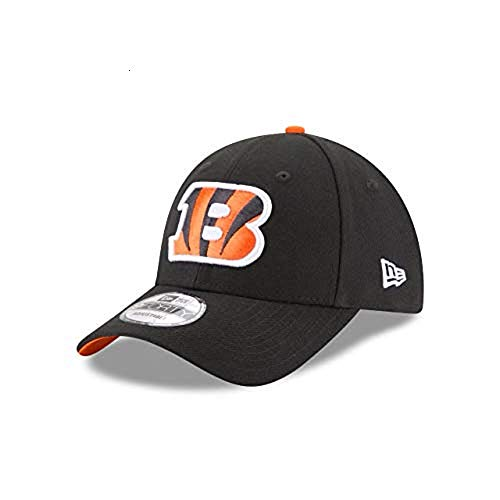 New Era Herren 9Forty Cincinnati Bengals Kappe, Schwarz, OSFA