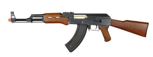 Double Eagle AK-47 AEG Semi/Full Auto Electric Airsoft Rifle Gun