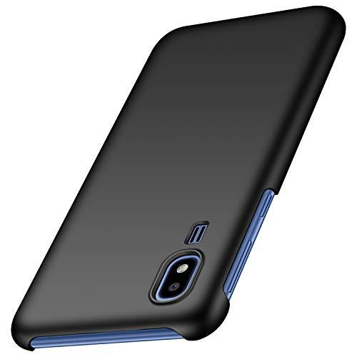 Funda Samsung Galaxy A2 Core, Anccer Ultra Slim Anti-Rasguño y Resistente Huellas Dactilares Totalmente Protectora Caso de Duro Cover Case para Samsung Galaxy A2 Core (Negro Liso)