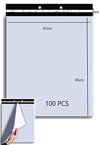 Lot 100 410x450mm Enveloppe plastique expedition...