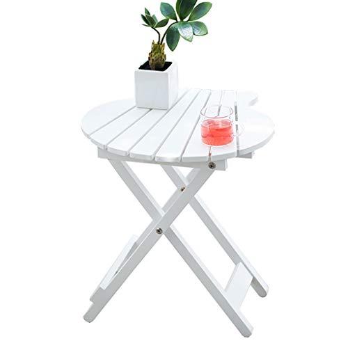 Beistelltisch Couchtisch Sofatisch Folding Holztisch Einfache Kreative Farbe Couchtisch Teetisch Beistelltisch Ende Tabellen Sofa Side Beistelltisch Beistelltisch Couchtisch (Color : White)