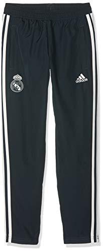adidas Kinder Real Madrid Woven Trainingshose, tech Onix/Core White, 128