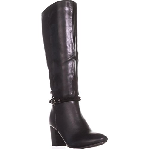 Price comparison product image Karen Scott Womens Galee Closed Toe Knee High Fashion Boots,  Black,  Size 9.0