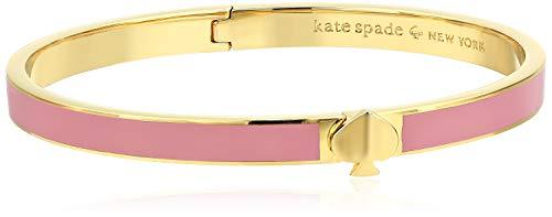 Kate Spade New York Heritage Spade Thin Enamel Spade Bangle Rococo Pink One Size