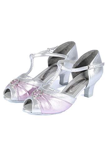 Freed of London Saturn Peep Toe Standard Tanzschuhe 36 Silver/Lilac