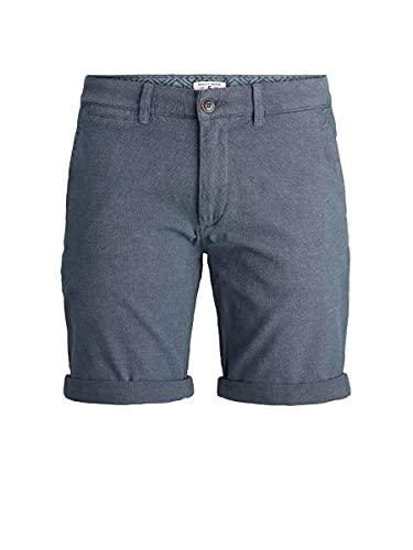 Jack & Jones JJIKENSO JJCHINO Shorts 21 AKM STS Pantalones Cortos de Vestir, Vintage Indigo, XX-Large para Hombre