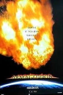 Amazon Com Armageddon 1998 Original Authentic Movie Poster 27x40 Dbl Sided Bruce Willis Billy Bob Thornton Ben Affleck Liv Tyler Everything Else