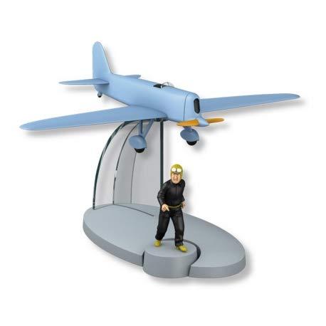 DataPrice Tintín 29563- Avion bleu, Aventures de Jo,Zette & Jocko . Le Test de M. Pump. Échelle 1:72