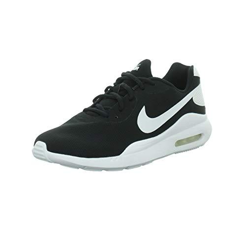 Nike Air MAX Oketo, Zapatillas Unisex Adulto, Negro Blanco, 42.5 EU