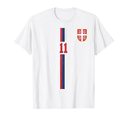 Serbia Soccer Retro T-Shirt Srbija Football Jersey