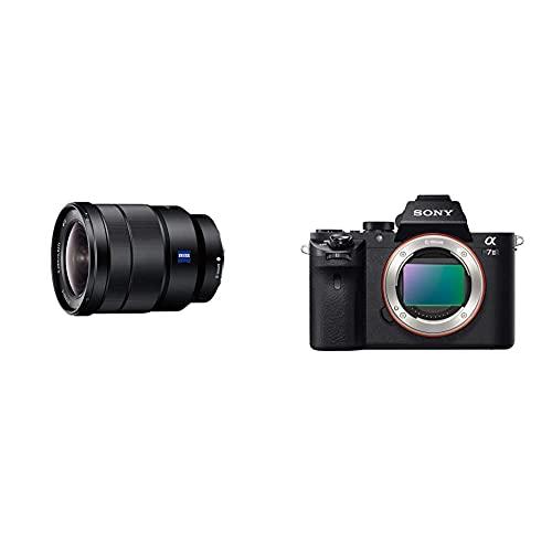 Sony Sel-1635Z Obiettivo Con Zoom 16-35 Mm F4.0, Serie Zeiss, Stabilizzatore Ottico, Mirrorless & Alpha 7M2 - Fotocamera Digitale Mirrorless Ad Obiettivi Intercambiabili, Sensore Cmos Exmor