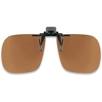Sonnenclip klappbar Sonnenvorhänger für Brillen Polarisierend grau Clip On Neu