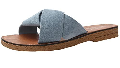 [ジェイストア] サンダル フラットサンダル レディース ぺたんこ フラット 歩きやすい ローヒール ビーチサンダル 夏 おしゃれ オシャレ かわいい 軽量 軽い 軽 脱げない ろーかっと クッション はきやすい 履きやすい あるきやすい 歩きやすい 疲れ
